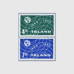 アイスランド 1965年ITU100年