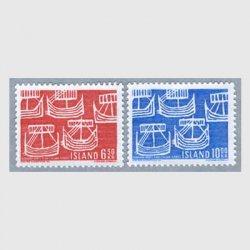 アイスランド 1969年5隻の古代船2種