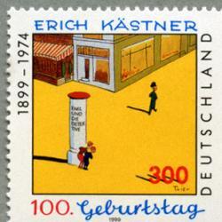 ドイツ 1999年作家Erich Kastner