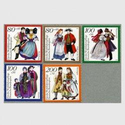 西ドイツ 1994年伝統衣装5種