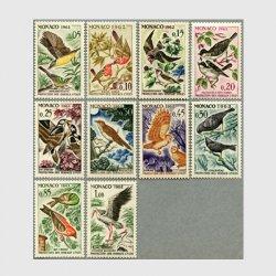 モナコ 1962年鳥10種
