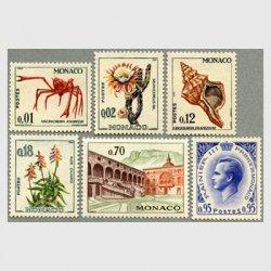 モナコ 1964年タカアシガニなど6種
