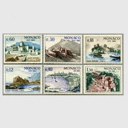 モナコ 1966年モナコ王宮8年6種※少難品