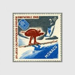 モナコ 1967年グルノーブル冬季五輪