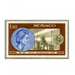 モナコ 1967年キュリー夫人ラジウムとポロニウム発見