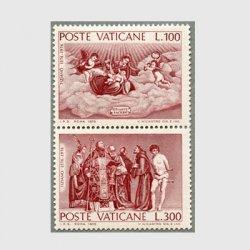 バチカン 1976年聖母と天使など2種