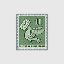 西ドイツ 1956年切手の日