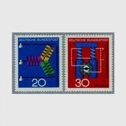 西ドイツ 1966年科学と技術の進歩2種