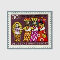 西ドイツ 1972年'72クリスマス※少難品