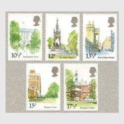 イギリス 1980年ロンドン観光名所5種
