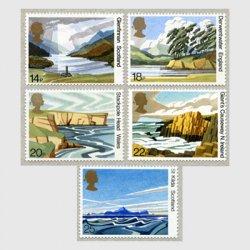 イギリス 1981年スコットランド文化財保護財団50年5種