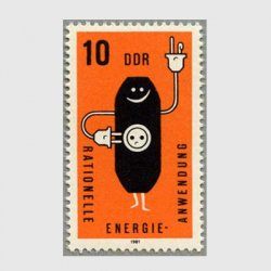 東ドイツ 1981年エネルギー保護