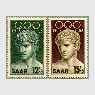 ザール 1956年メルボルンオリンピック2種 - 日本切手・外国切手の販売 ...