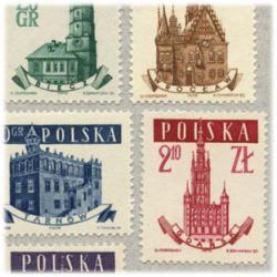 ポーランド 1958年タウンホール5種