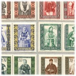 ポーランド 1959-60年民族衣装20種