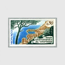 モナコ 1967年モンテカルロの風景