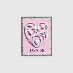 アメリカ 2007年シルバーハート58セント