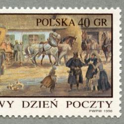 ポーランド 1996年郵便通信博物館75年