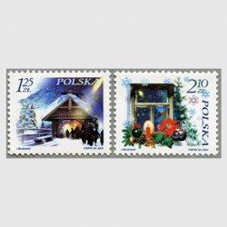ポーランド 2004年クリスマス2種