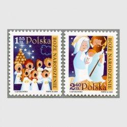 ポーランド 2009年クリスマス2種