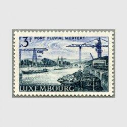 ルクセンブルグ 1967年Metert河港