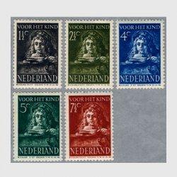 オランダ 1941年レンブラント画テトス5種