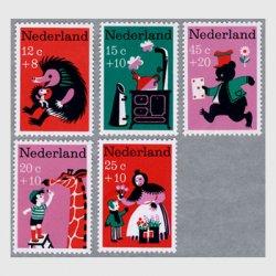 オランダ 1967年ナーサリー・ライムズ5種
