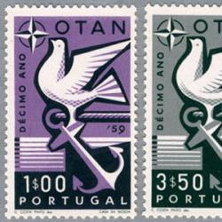 ポルトガル 1959年アベイロ市1000年2種