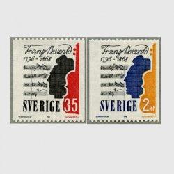 スウェーデン 1968年作曲家Franz Berwald