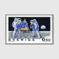 スウェーデン 1994年月面着陸25年