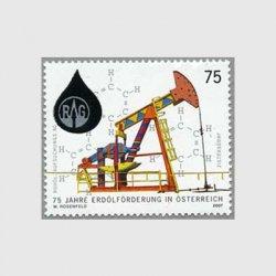 オーストリア 2007年石油製造75年