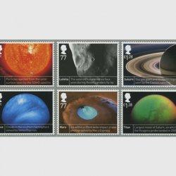 イギリス 2012年宇宙科学6種