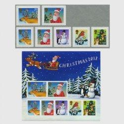 イギリス 2012年クリスマス切手