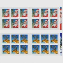イギリス 2012年クリスマス切手帳