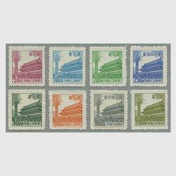 中国 1954年天安門図第6版8種(普7)
