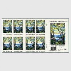 アメリカ 2007年ティファニー・両面切手帳