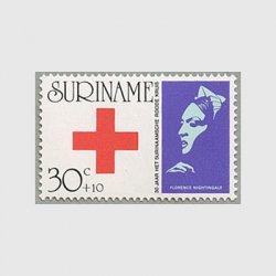 スリナム 1973年赤十字30年