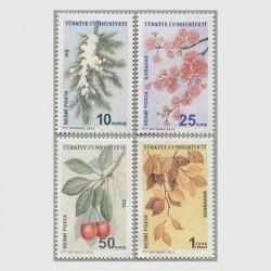 トルコ 2012年四季4種