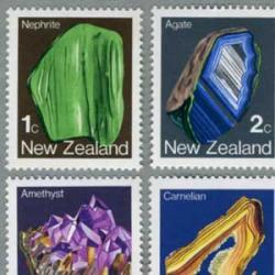 ニュージーランド 1982年鉱物6種