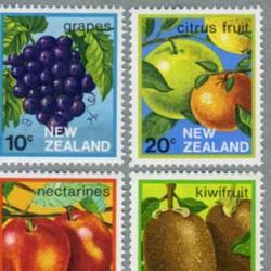 ニュージーランド 1983年フルーツ5種