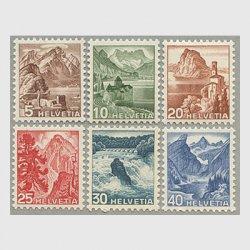 スイス 1948年風景6種