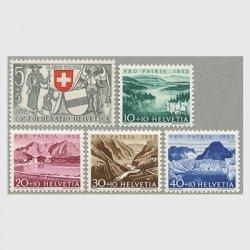 スイス 1952年ドーブ川など5種