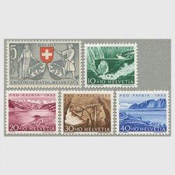 スイス 1953年ルース川など5種