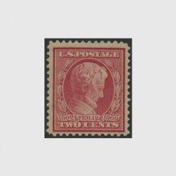 アメリカ 1909年リンカーン生誕100年2c・青味灰色紙