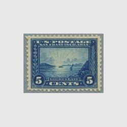 アメリカ 1913年パナマ太平洋博覧会5セント・目打12