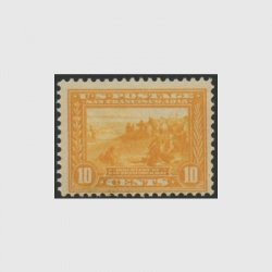 アメリカ 1913年パナマ太平洋博覧会10セント・目打12