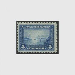 アメリカ 1914年パナマ太平洋博覧会5セント・目打10(軽シワ)