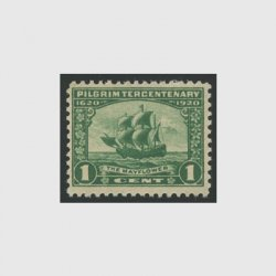 アメリカ 1920年ピルグリム300年1セント