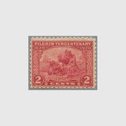 アメリカ 1920年ピルグリム300年2セント