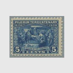 アメリカ 1920年ピルグリム300年5セント